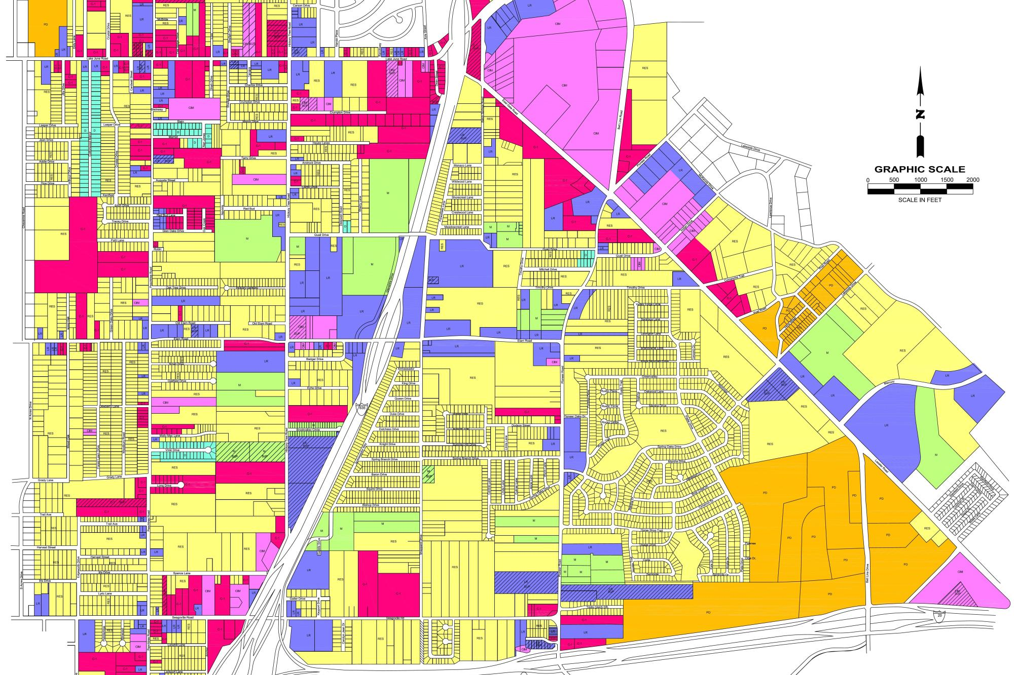 Balch Springs Water and Wastewater System GIS Mapping on
